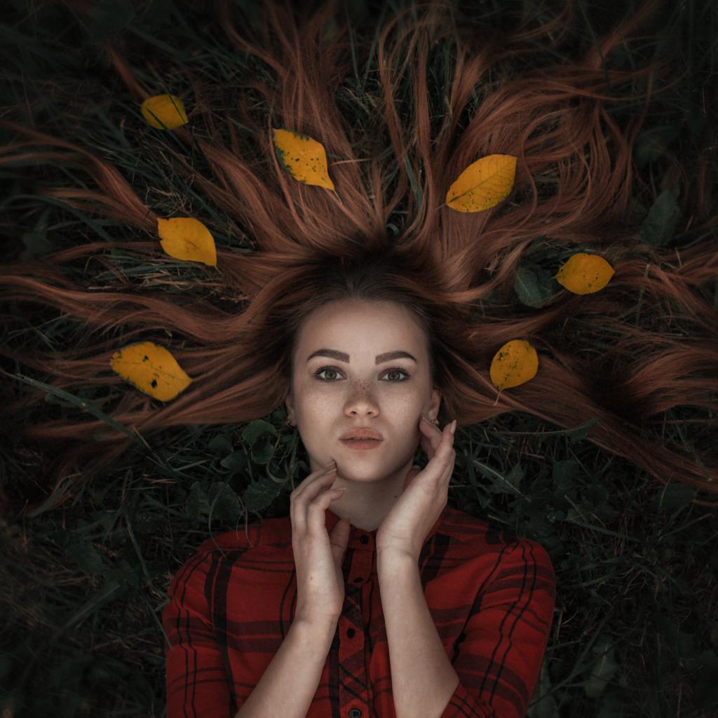 картинки листья в волосах женские сумки