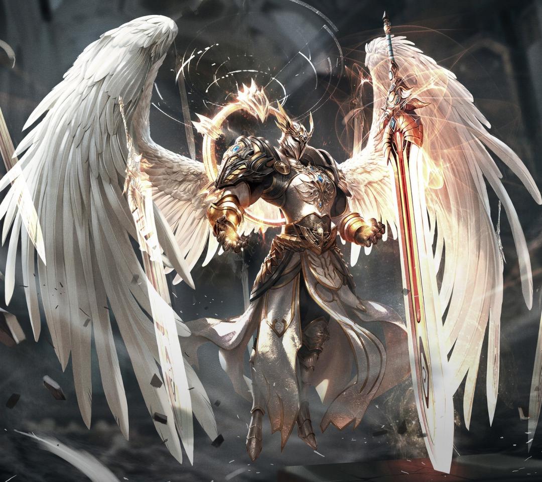 растительные картинки с ангелами воинами одну