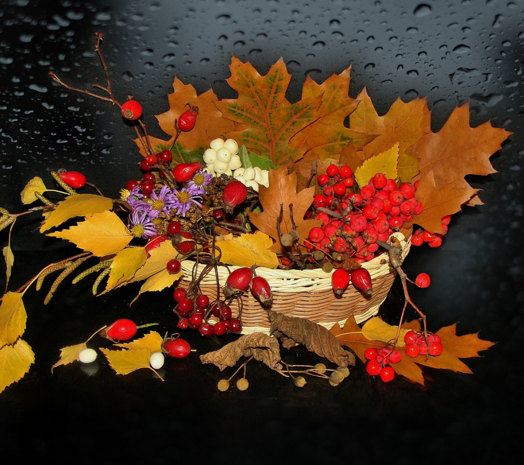 Открытки природа осень осенний натюрморт