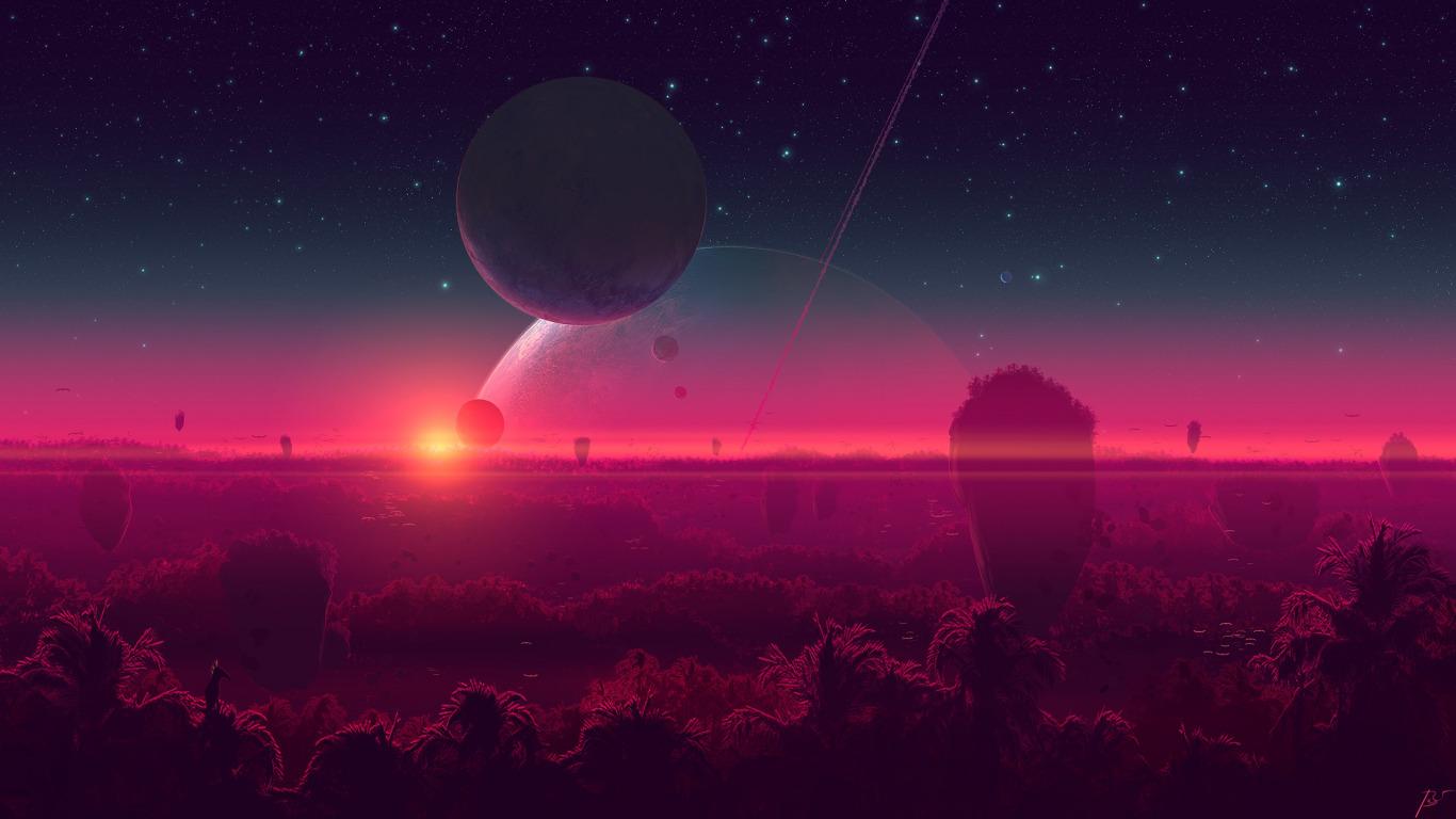 Звёздное небо и космос в картинках - Страница 40 Fantasy-art-art-fantastika-josef-barton-by-josef-barton-by-j