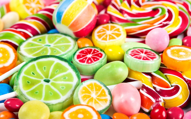 Красивые картинки конфетами