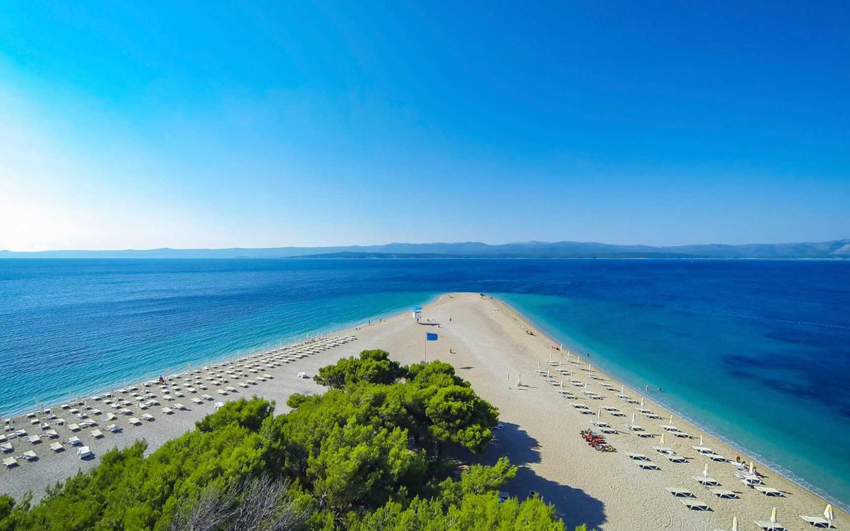 показало, пляж золотой рог в хорватии фото стремятся все