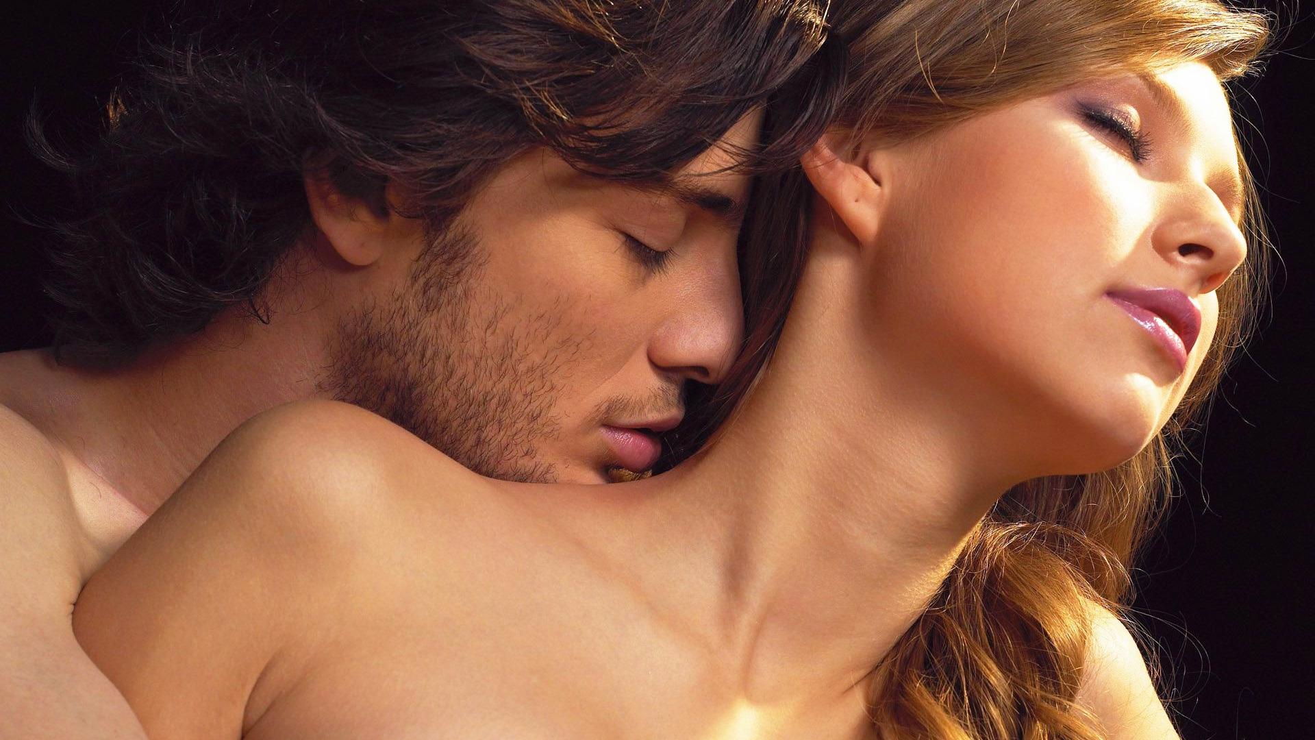 Картинки женщина мужчина поцелуи