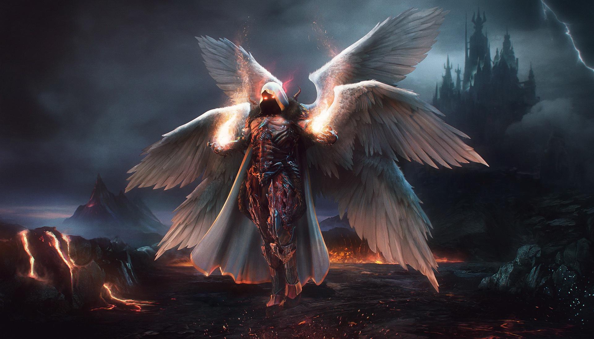 спорит, фото архангелов с крыльями одна