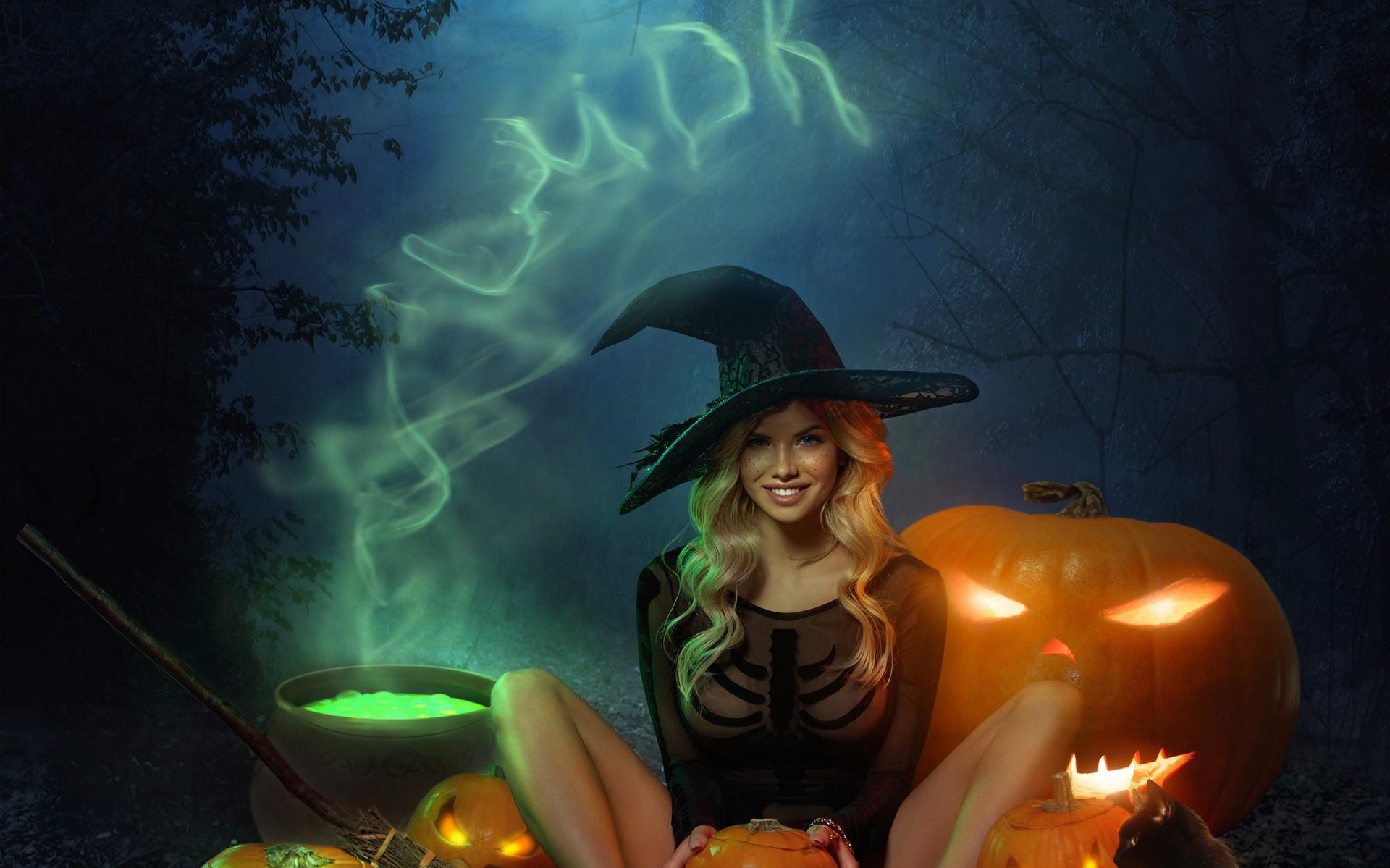 Картинки с ведьмами большого разрешения