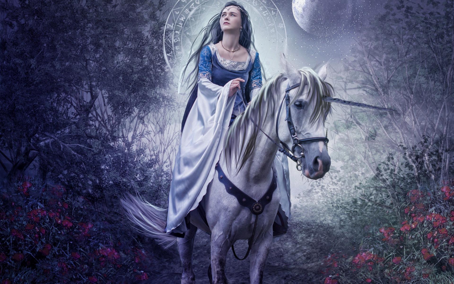 Картинки богинь на конях