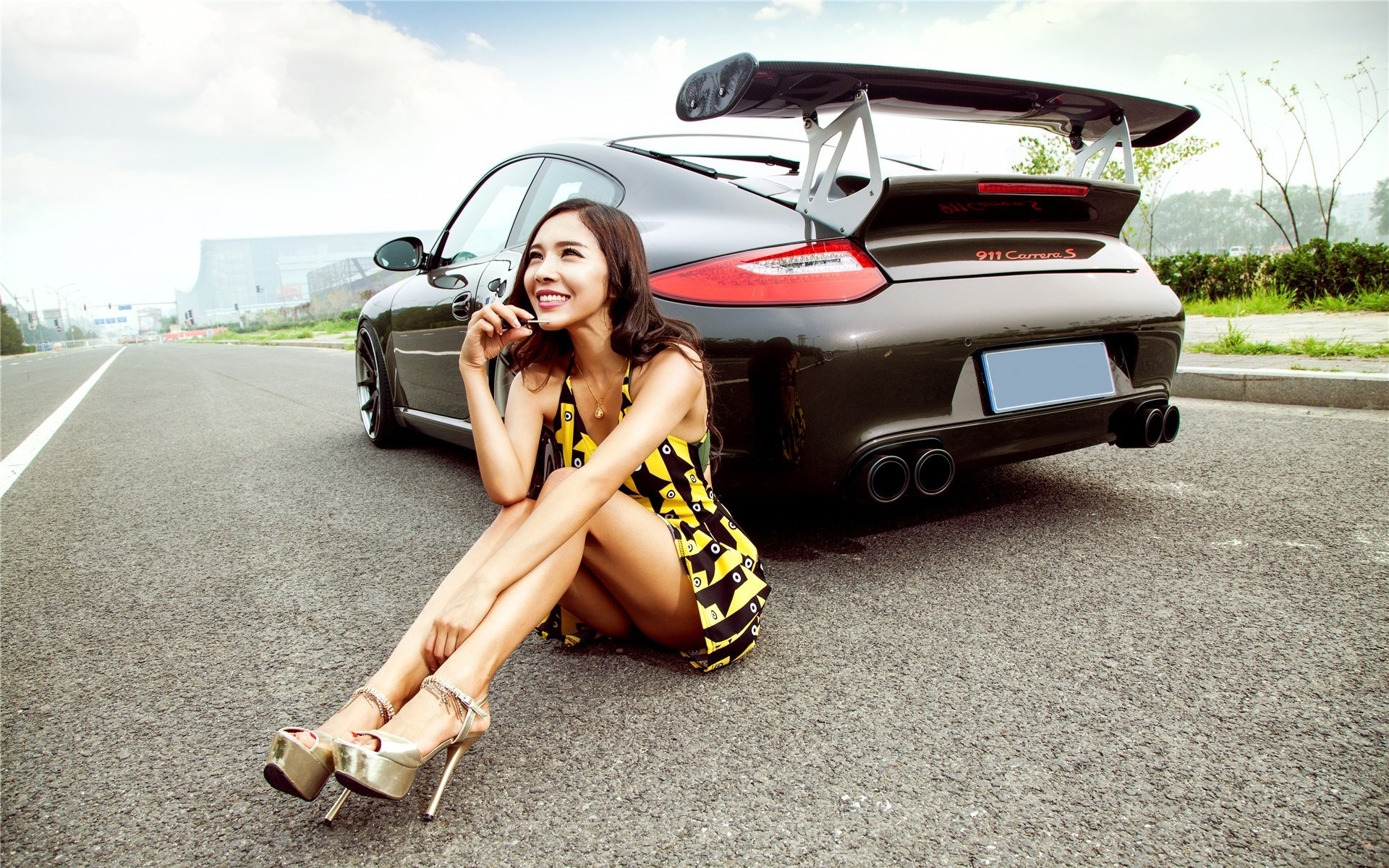 Sexy asian cars with girls girls