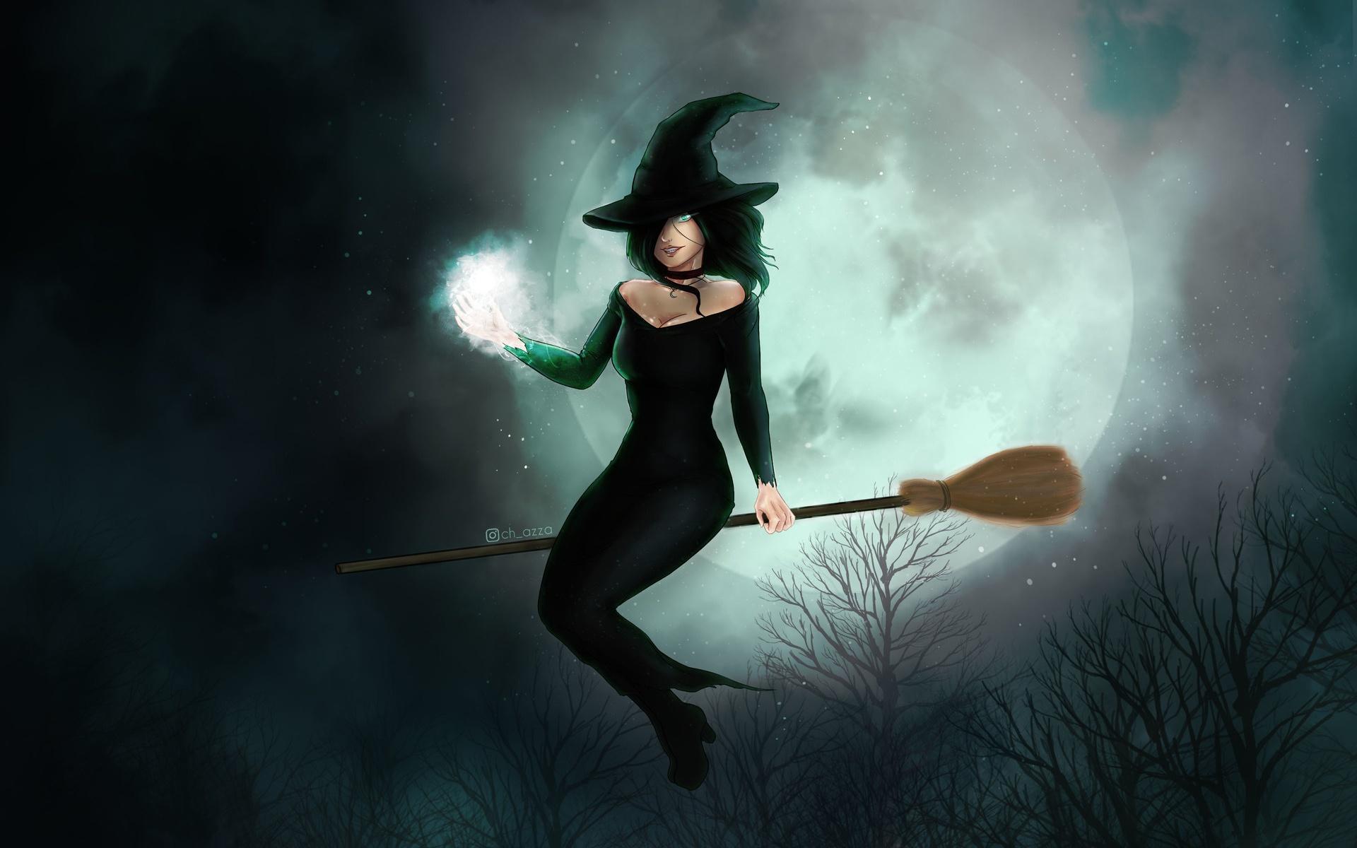 Все картинки ведьмы
