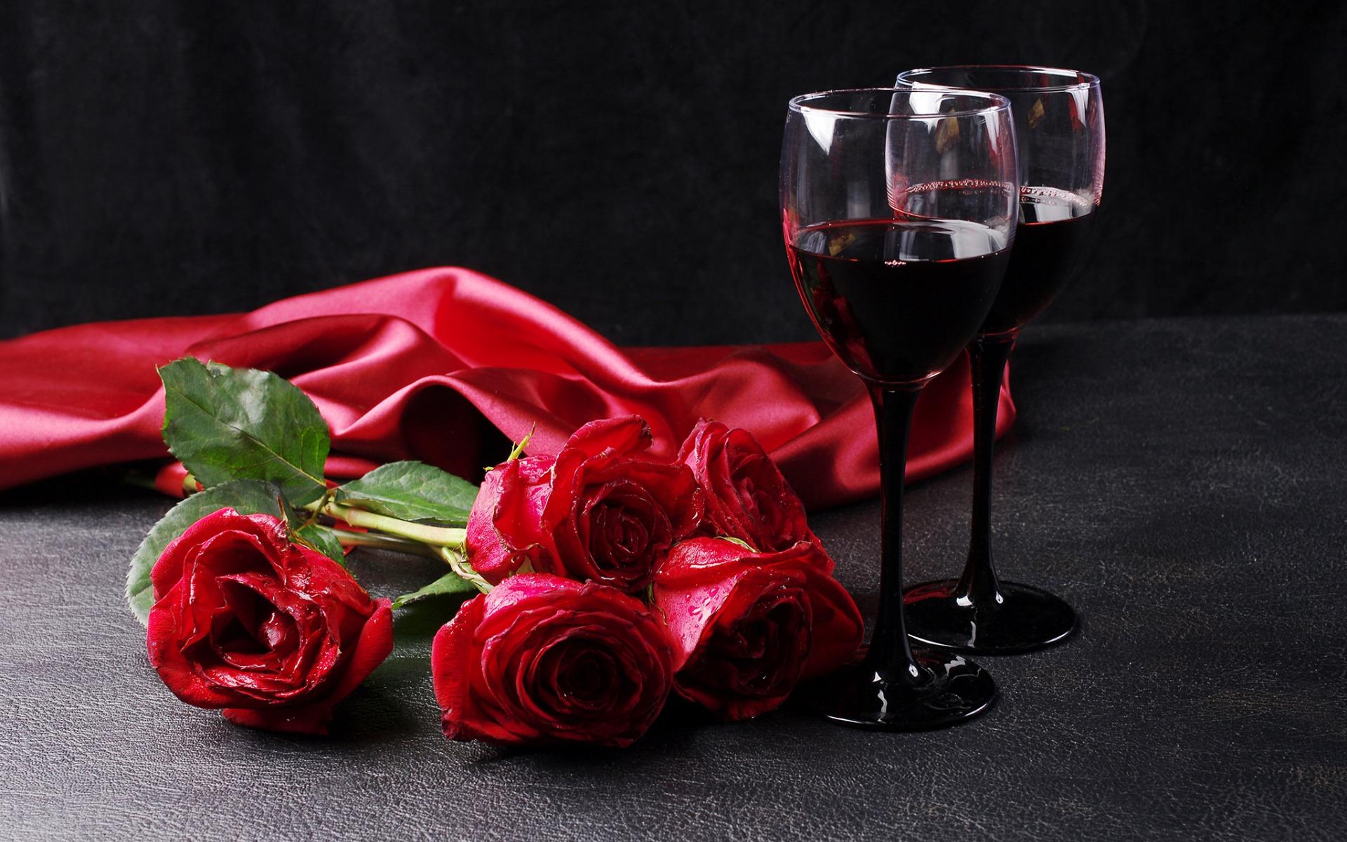 Открытки романтические цветы, утро