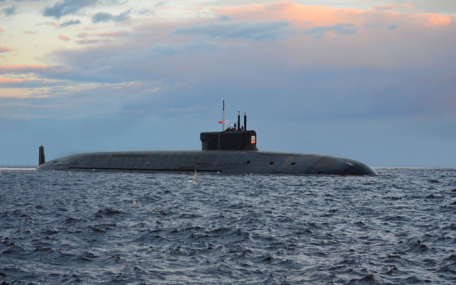 террасы картинка атомный подводный крейсер ламинация