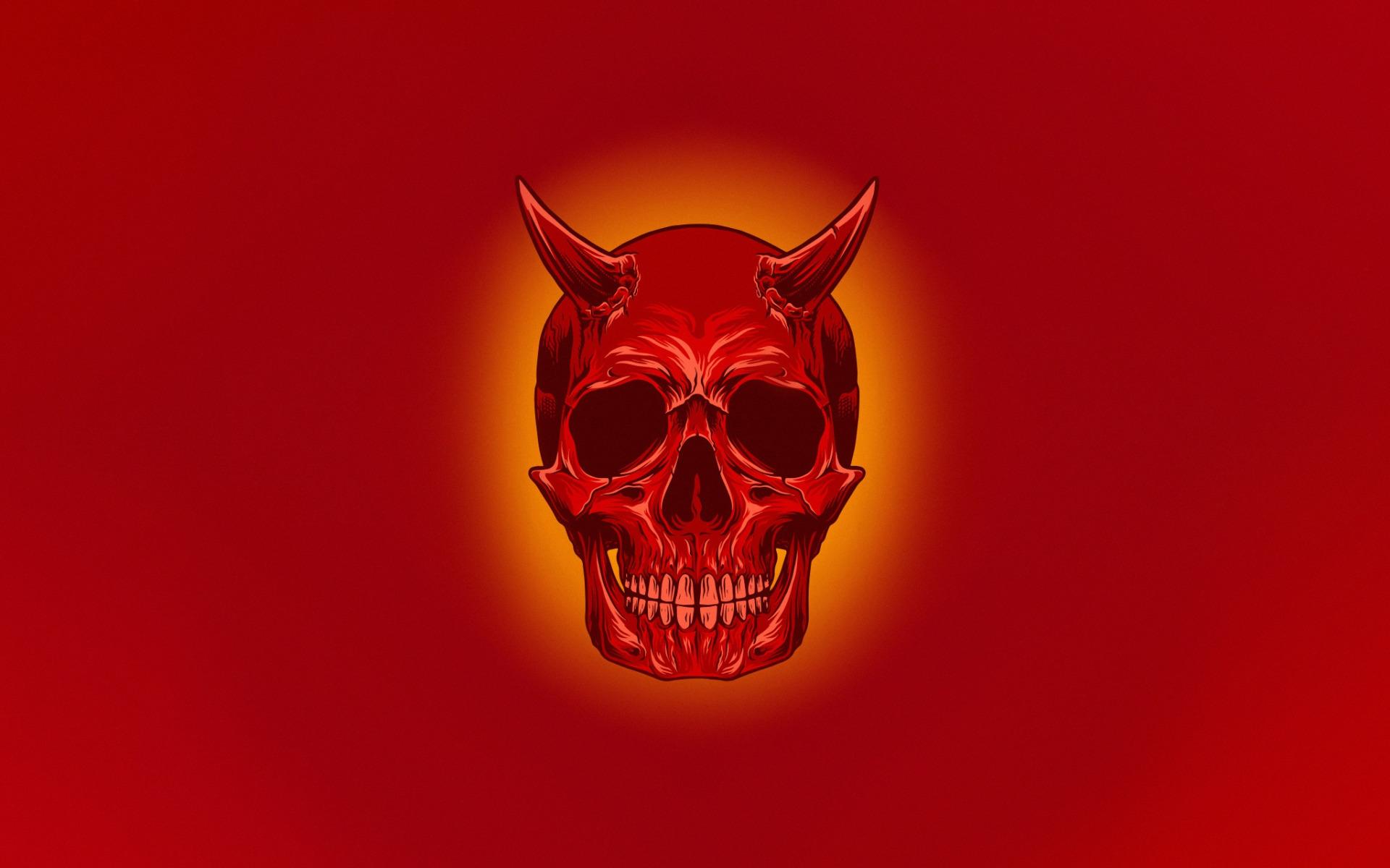 красные черепа картинки на рабочий стол заказ фотоколлаж вашим