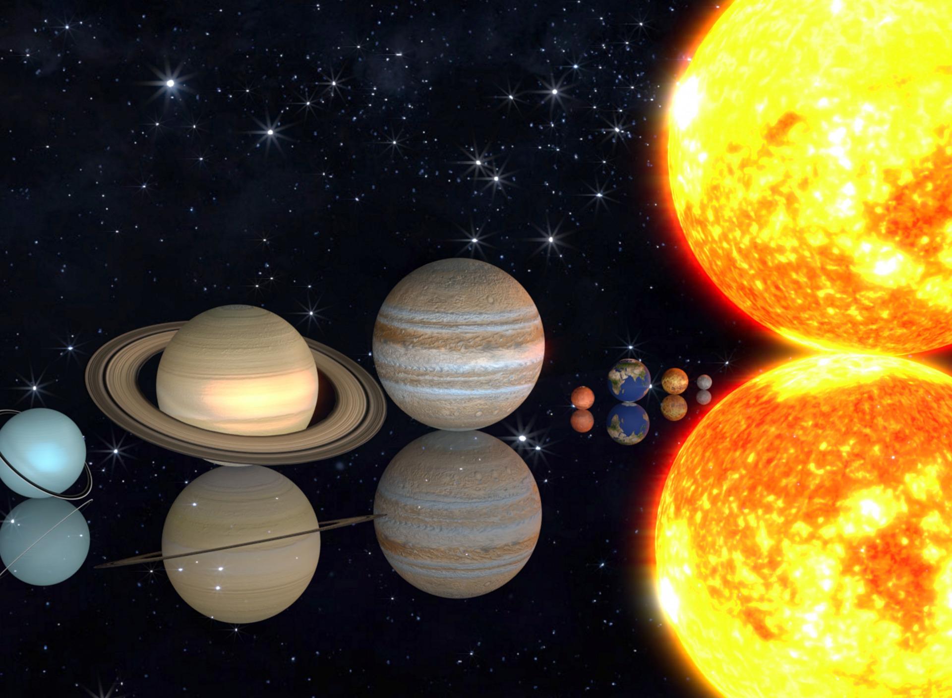 сама себе величина планет фото рисунков