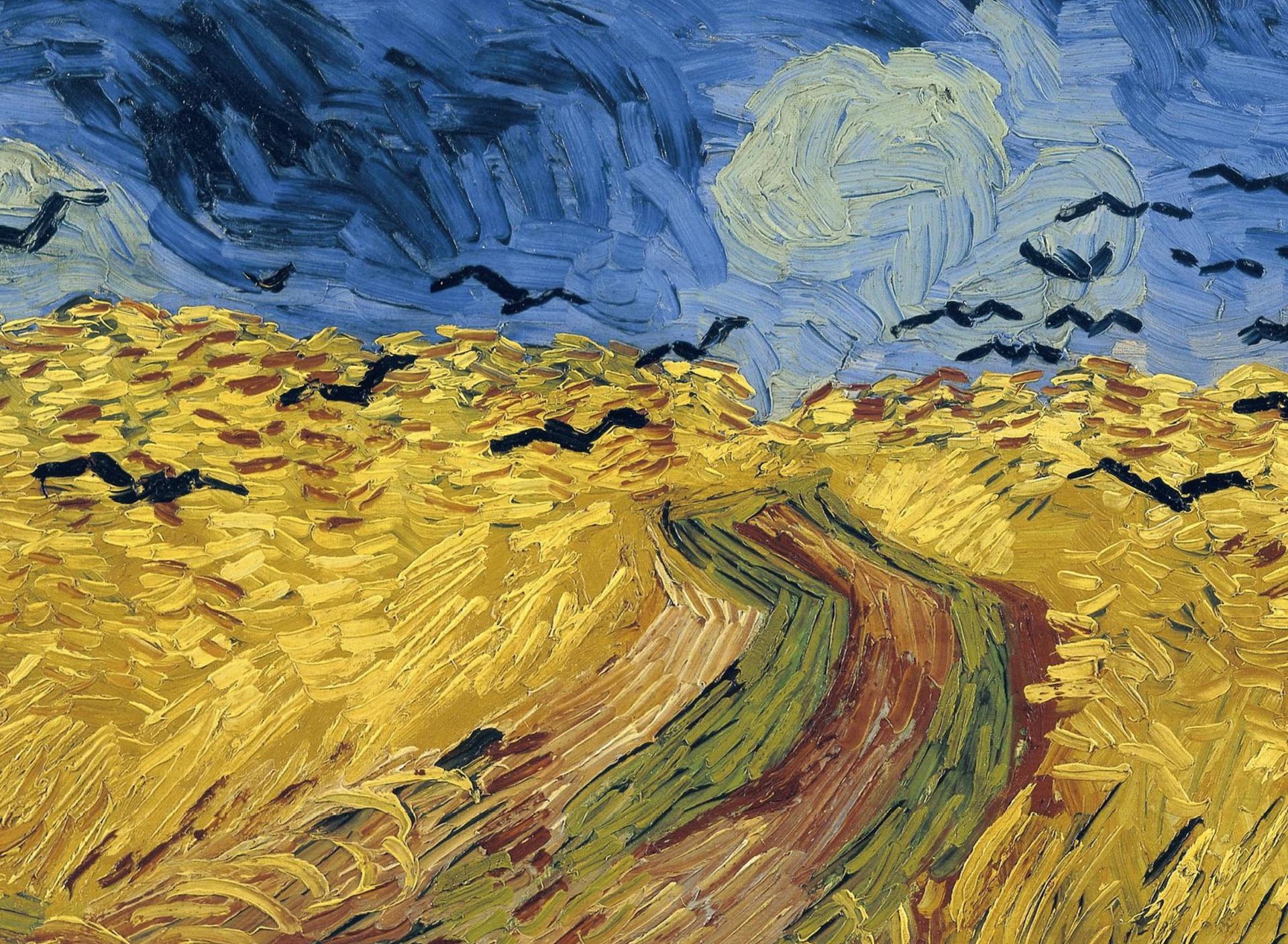 ван гог пшеничное поле с воронами фото хотела изменить свою