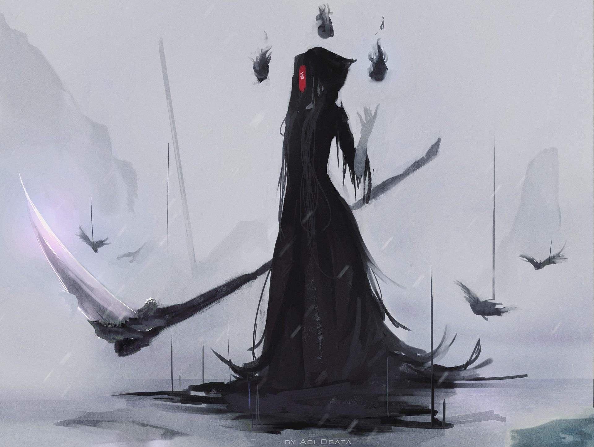 Картинки в виде смерти с косой
