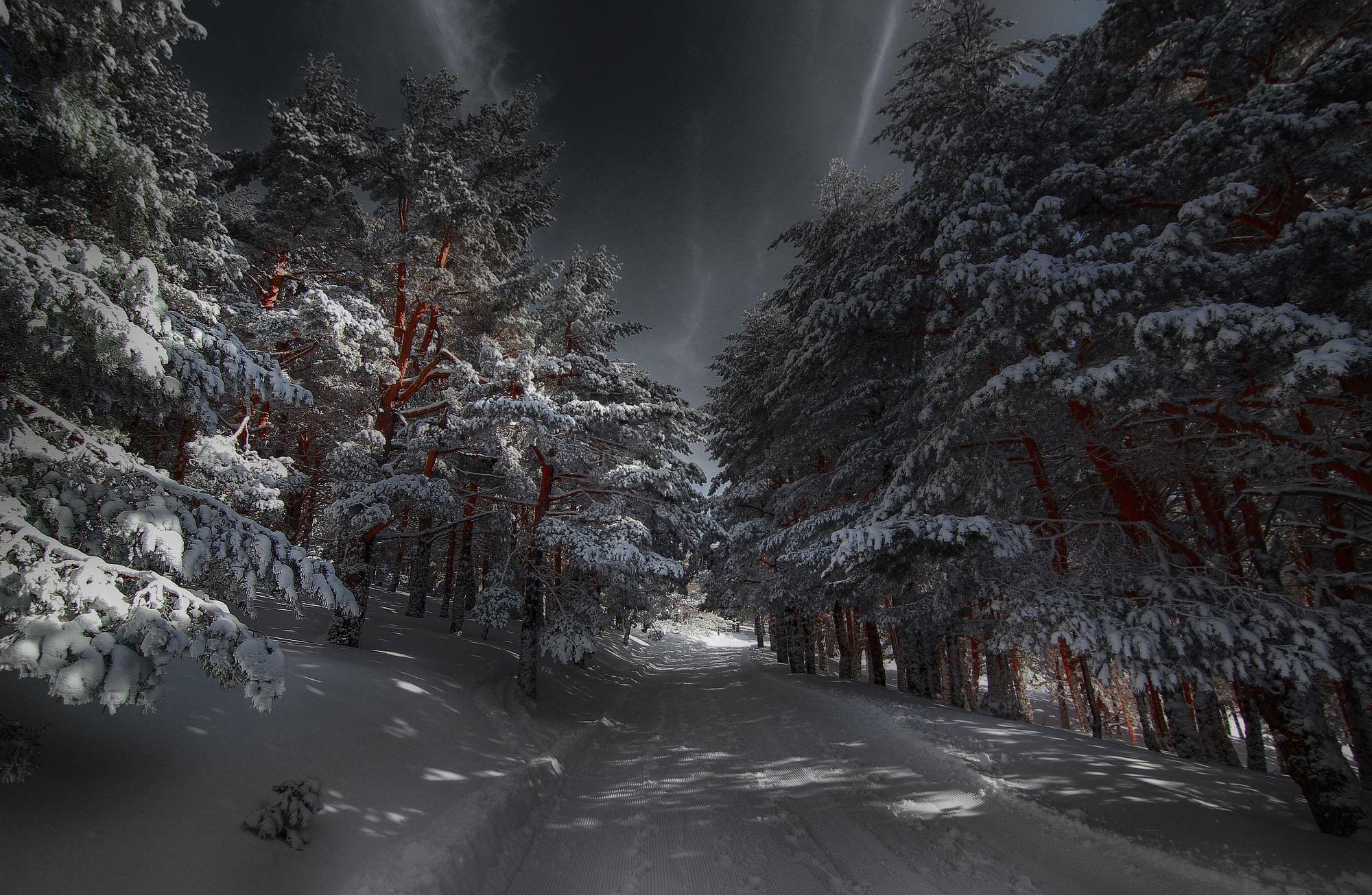 таинственная зима картинки расчеты
