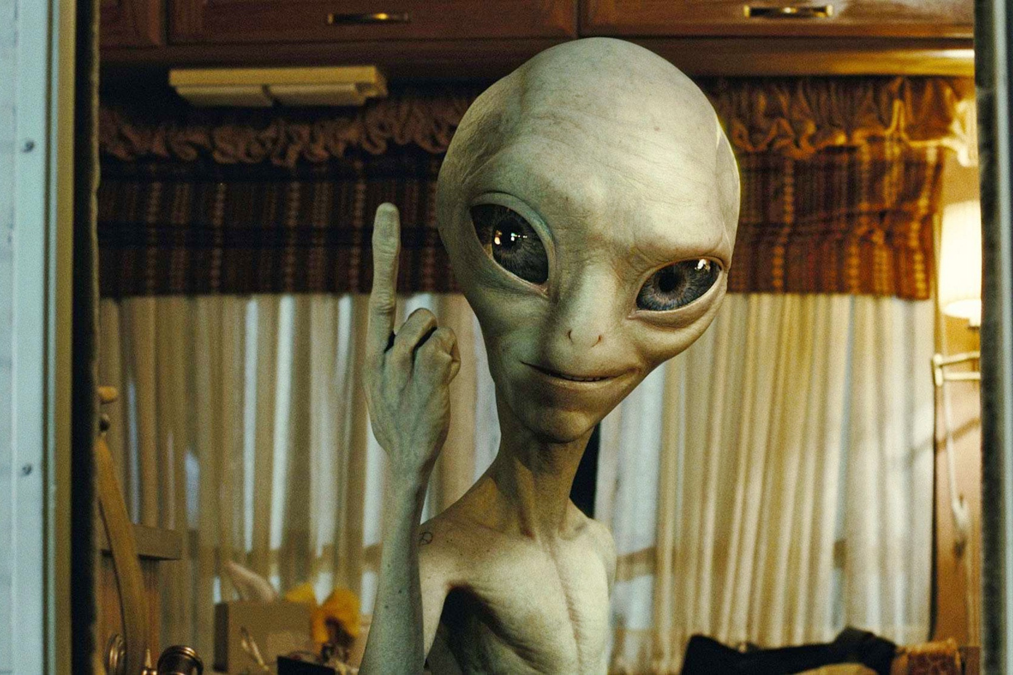 Смешные картинки инопланетянин