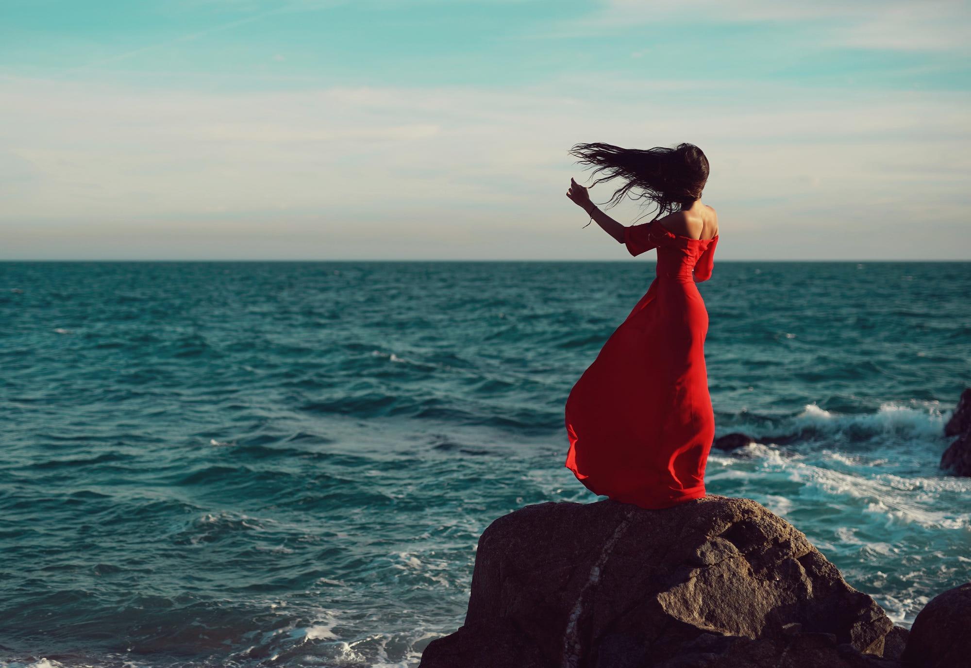 Девушка моря картинки