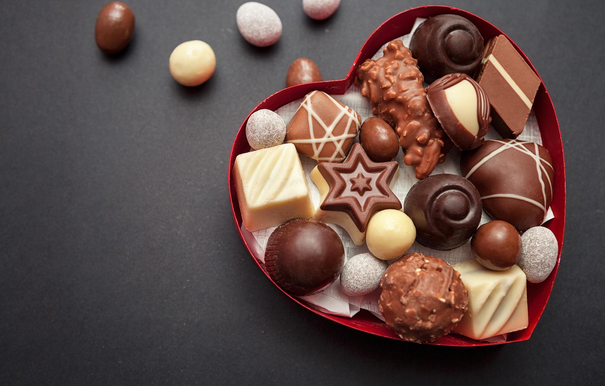 красивое фото для рабочего стола конфеты