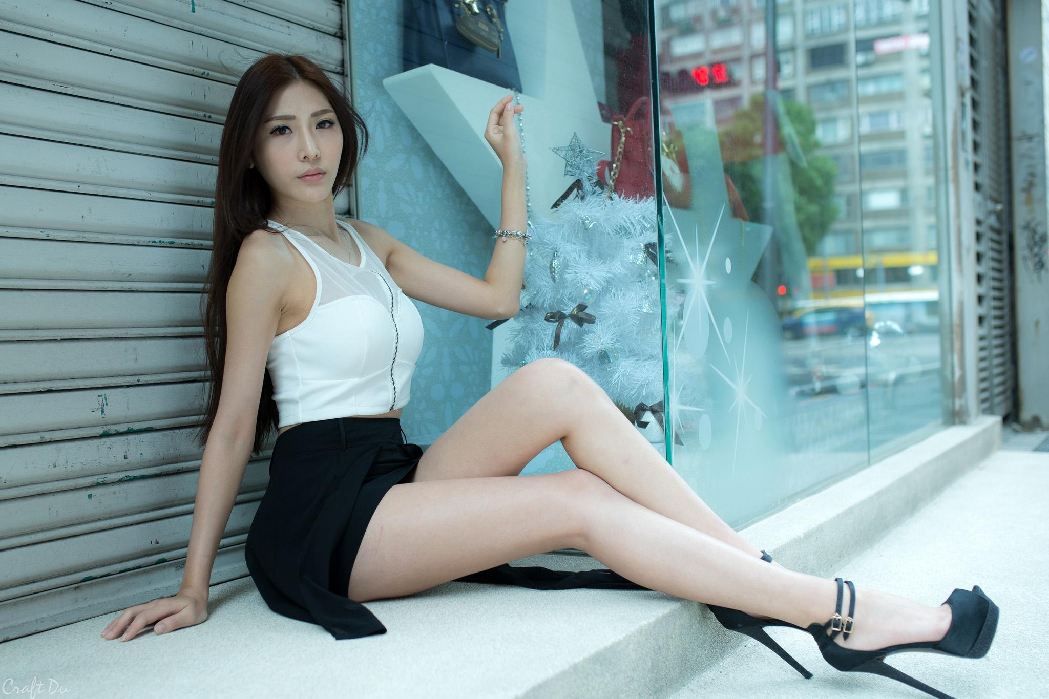 Sexy asian heel