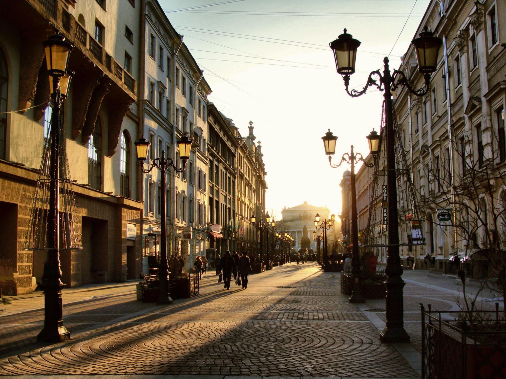 картинки улиц в россии уютной осени