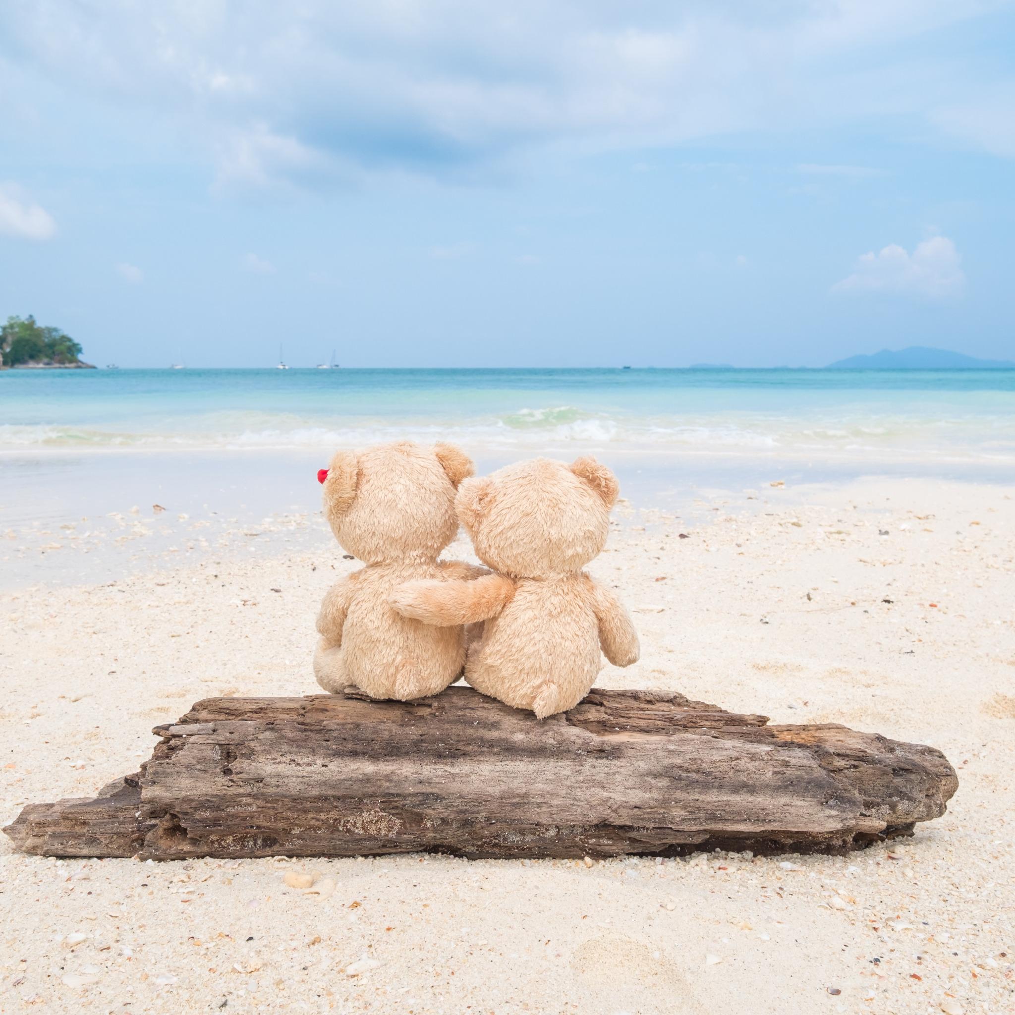 это картинка игрушка на берегу моря куча