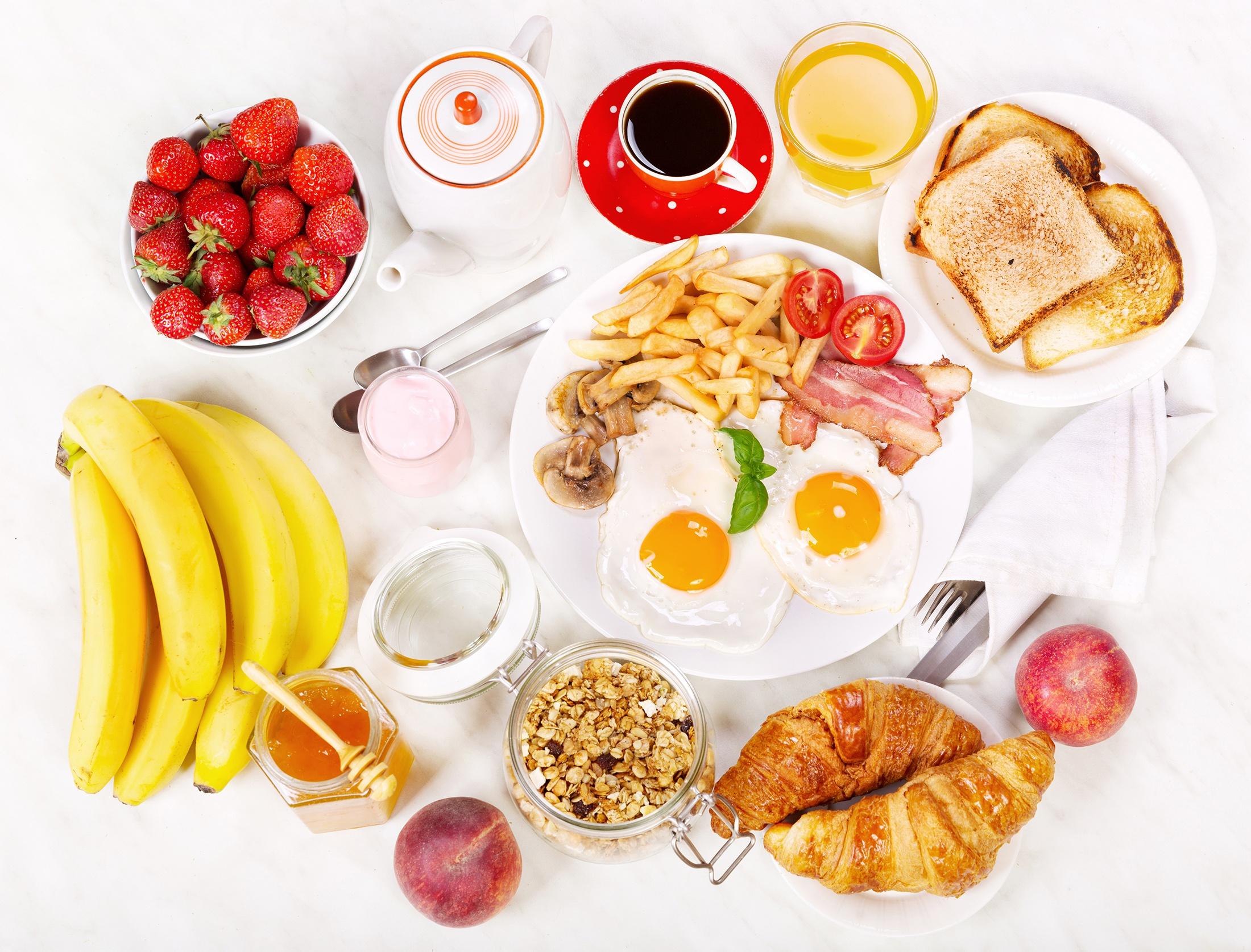 Правильный завтрак в картинках