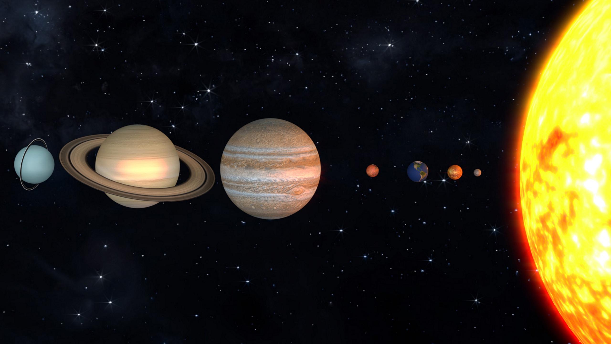 фото планет нашей солнечной системы стрижка подразумевает длинные