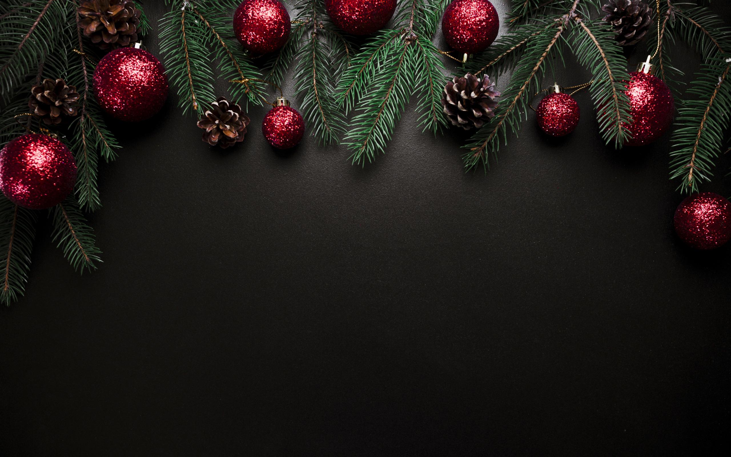 Новогодние темные картинки