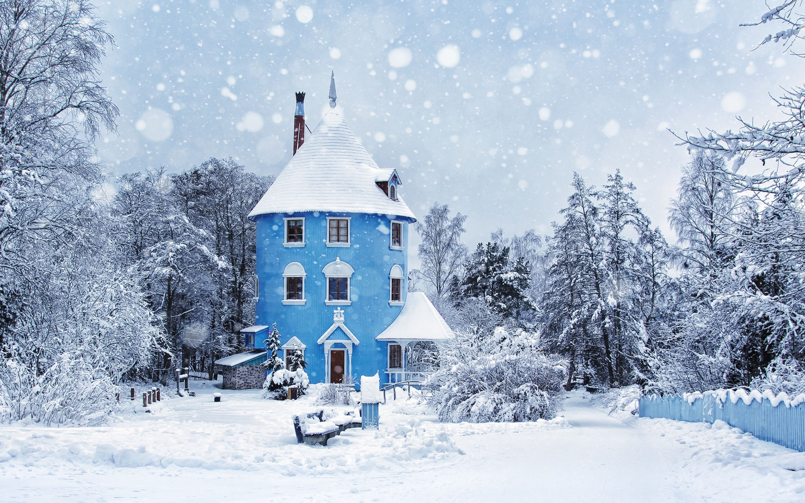 Снежные домики картинки