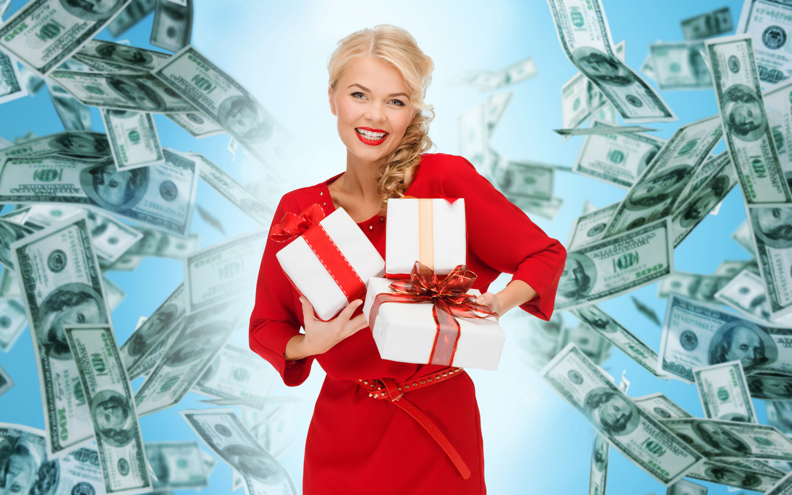 Блондинки за деньги