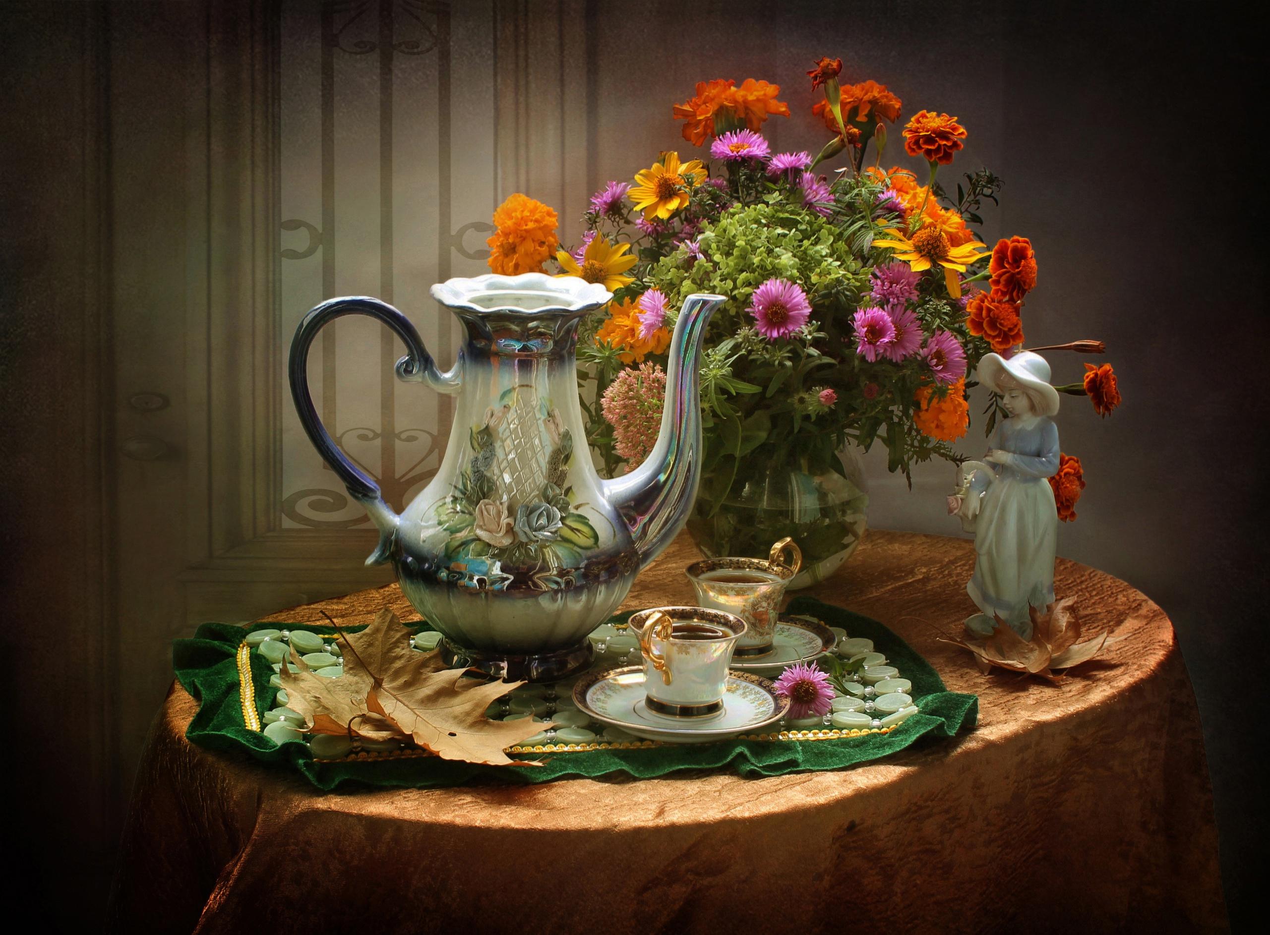 красивые фото чайных натюрмортов можно качестве