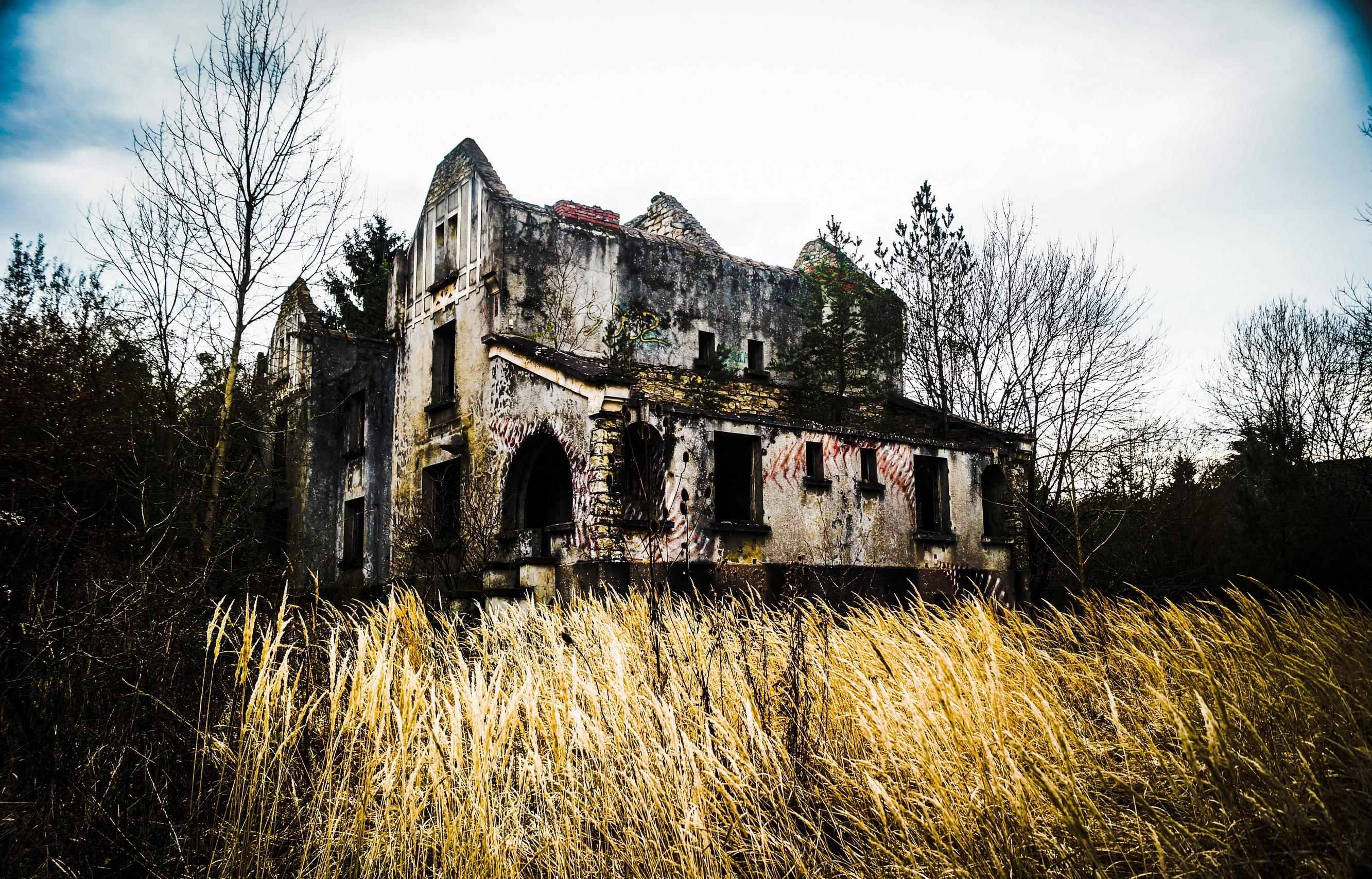 под картинки руины домов то, что