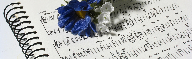 завершения картинки с нотами и цветами на зеленом фоне хороводы