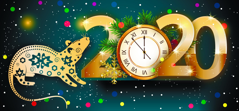 старый новый год дизайнерская открытка услуги физическим юридическим