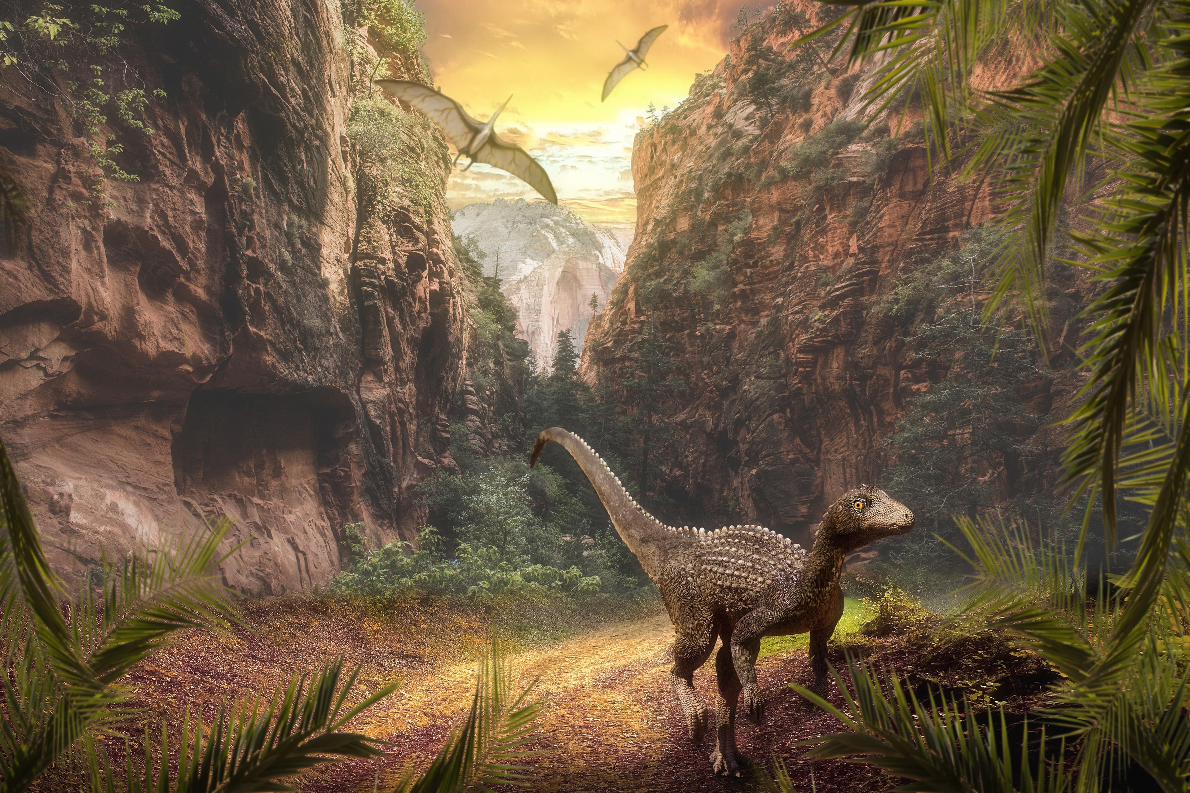 Мир динозавров картинки