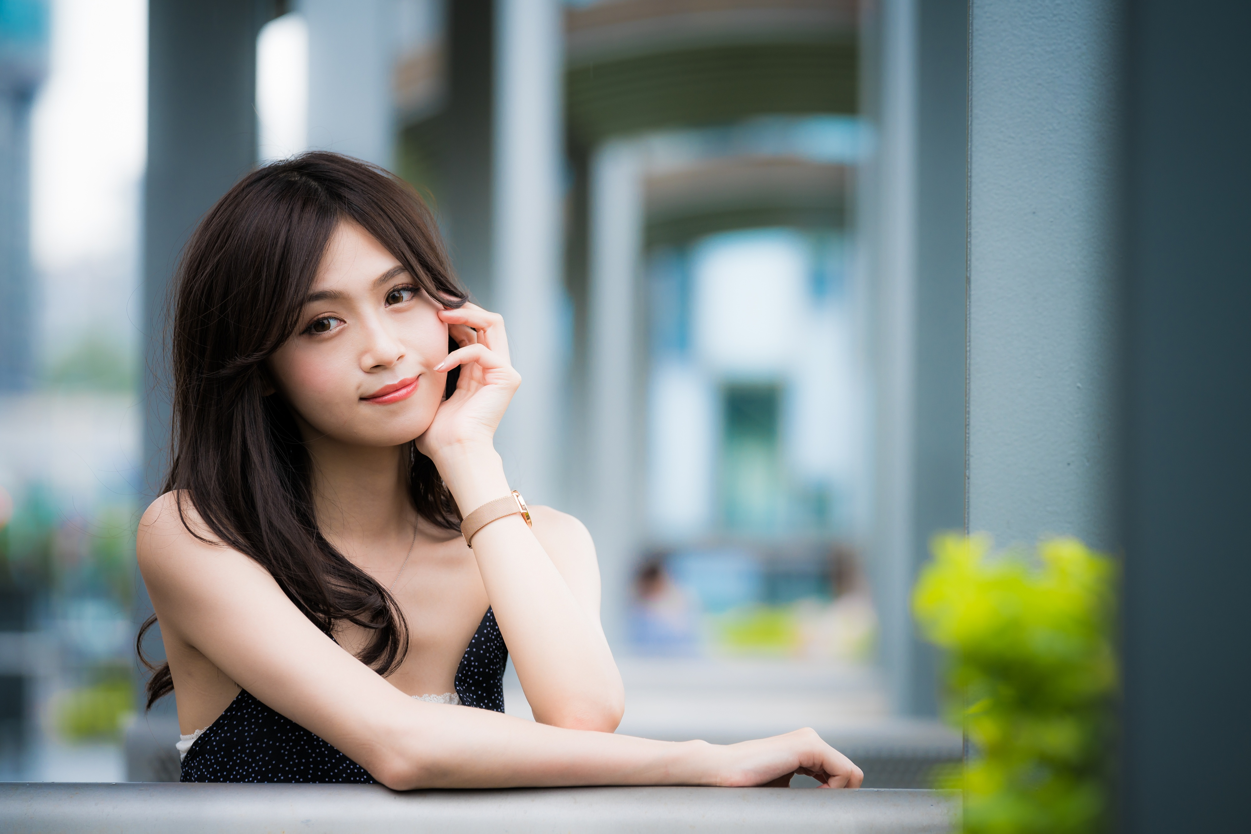 And young fine asian girls male
