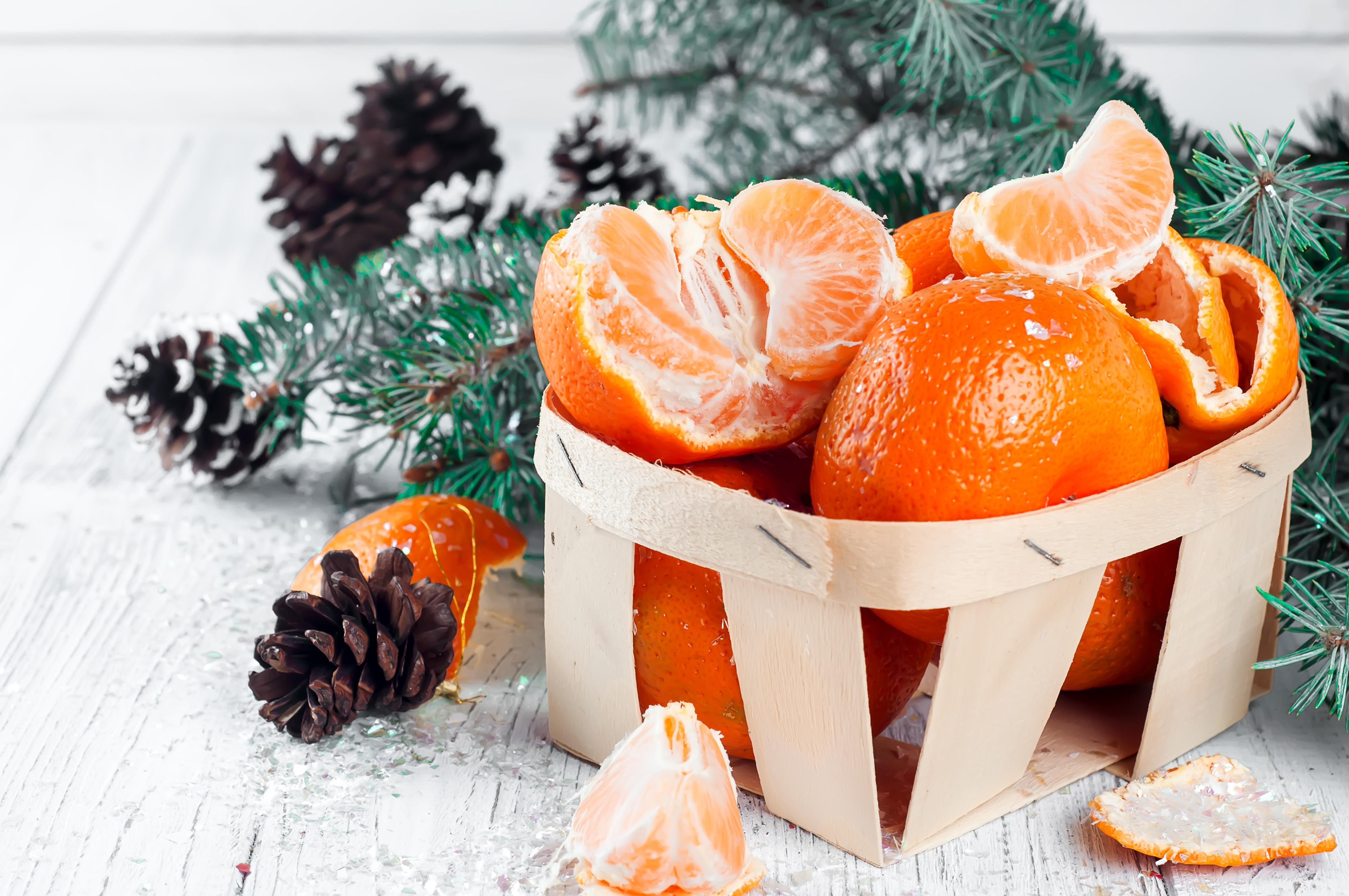 Картинки с мандаринами к новому году