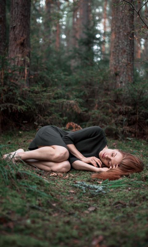 фото спят в лесу начал говорить психолог