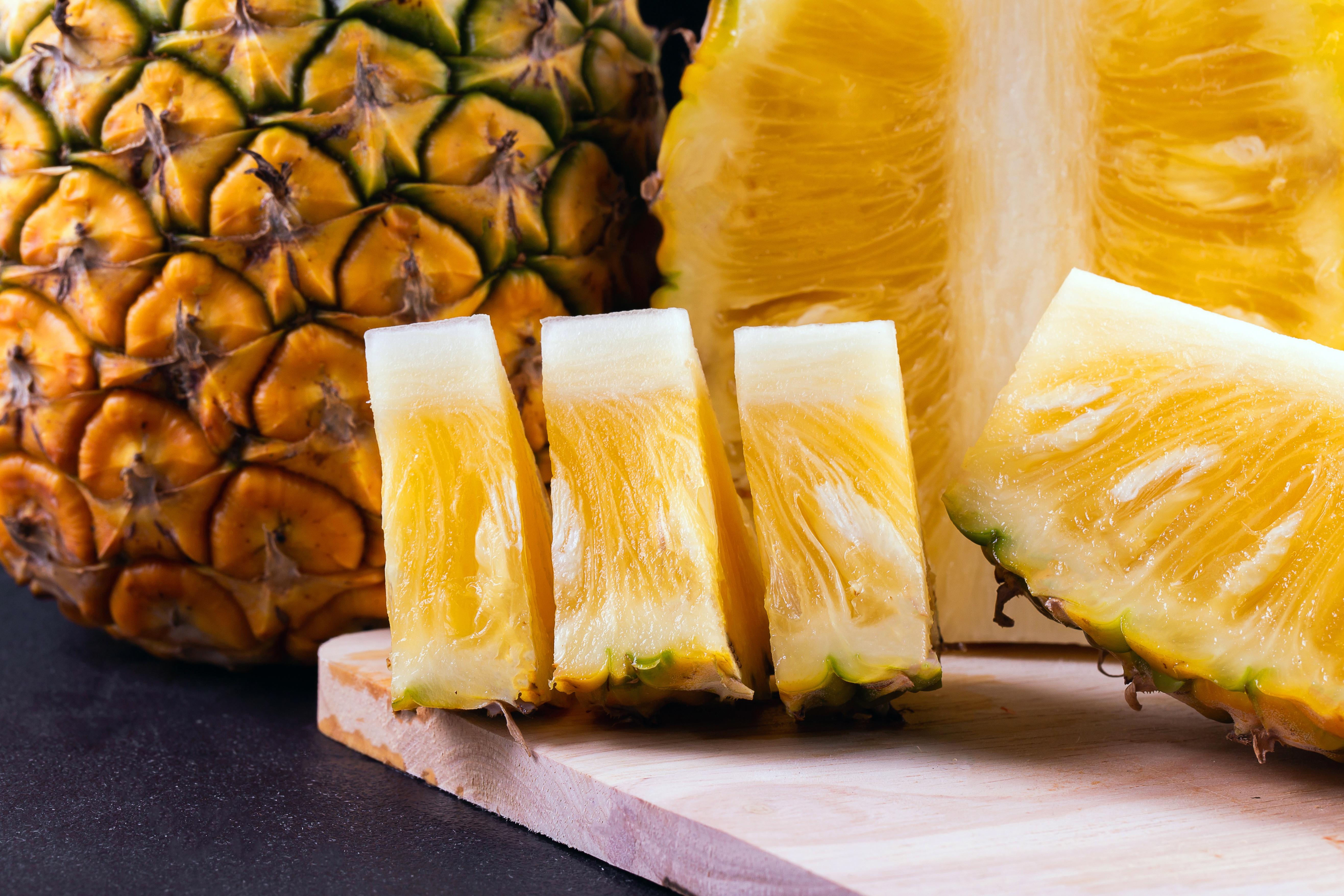Картинки дольки ананаса