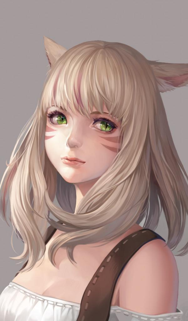 Фэнтези девушки кошки без ушей