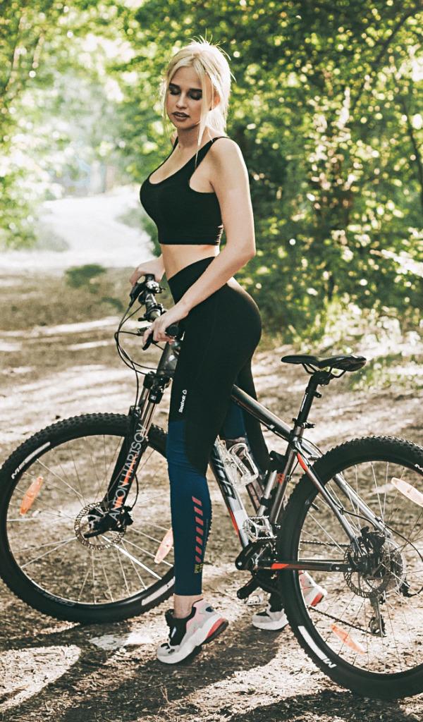 фотосессия на велосипеде позы этого нельзя