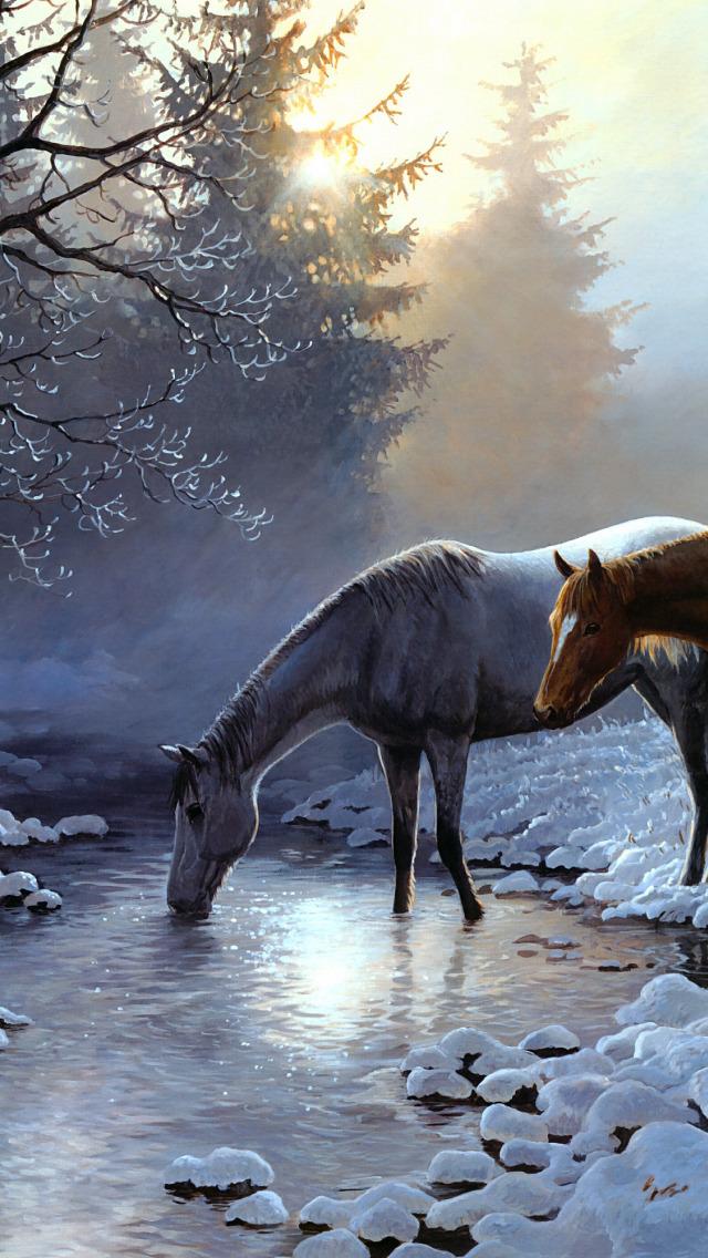 живые картинки которые двигаются животные лошади это прекрасный способ