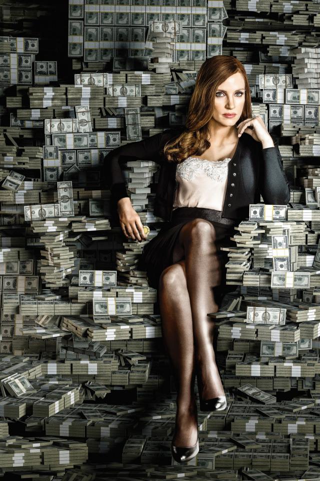 Девушка в деньгах картинка