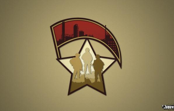 Картинка знак, звезда, логотип, солдат, символ, военный, знамя, группировка, Survarium, милитари, армия возрождения, сурвариум