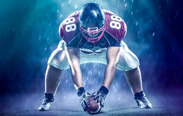 Картинка фото, Мяч, Спорт, Шлем, Мужчина, Униформа, Американский футбол