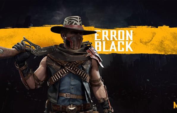 Картинка ковбой, ружьё, боец, наёмник, смертельная битва, cowboy, MK11, mercenary, bounty hunter, охотник за головами, NetherRealm …