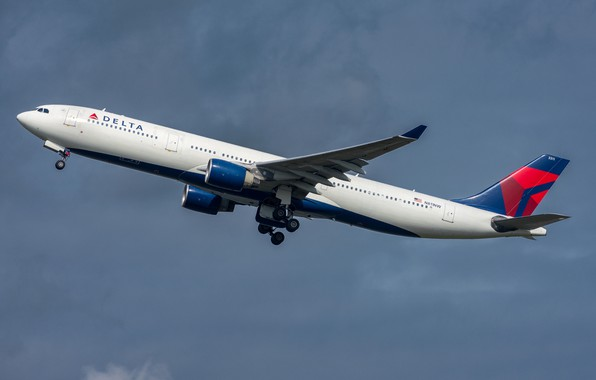 Картинка Airbus, A330-300, Delta Air Lines
