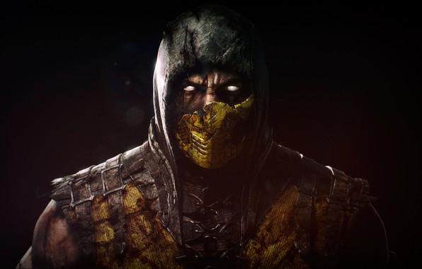 Картинка Mortal Kombat, Scorpion, Characters, Mortal Kombat X, MKX, by Meduzarts Mtl, Meduzarts Mtl