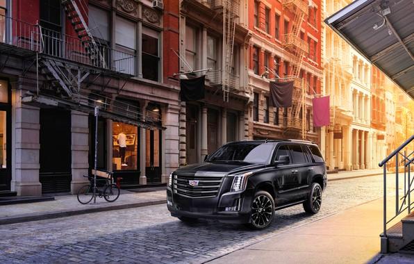 Картинка Cadillac, Cadillac Escalade, Sport Edition, 2019, Cadillac Escalade Sport Edition 2019