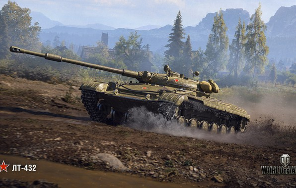 Картинка WoT, World of Tanks, Wargaming, ЛТ-432